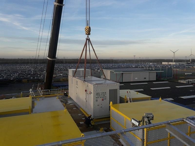 DBR delivers 5 Megawatt Power Solution for German Offshore Wind park
