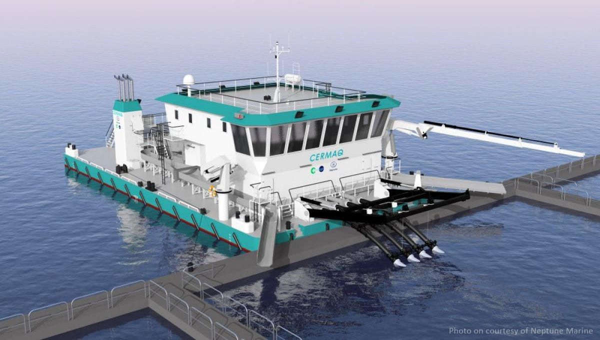 DBR supplied World's first IMO Tier 3 Generator sets with MAN Marine Engines for Salmon Pontoon