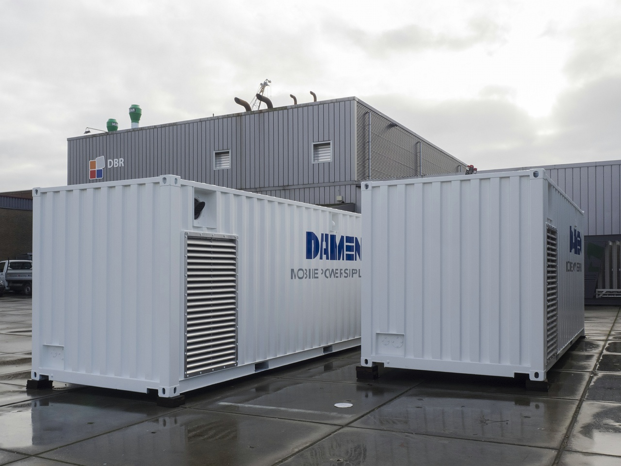 DBR awarded by Damen Shipyards to deliver standardized Mobile Power Supply