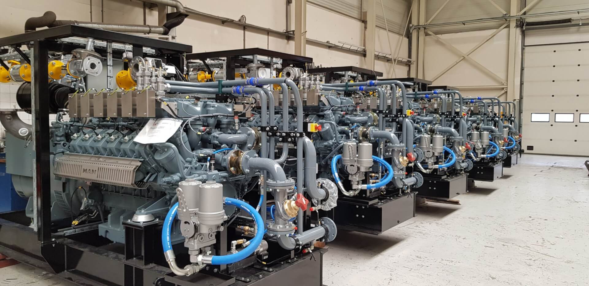 The first Stage V – Gas Generator sets for Parsifal project on its way to the yard!